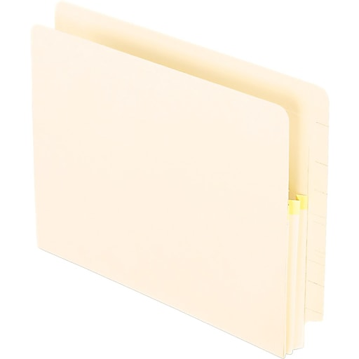 Pendaflex 1 3/4 Inch Expansion File, 25 Pockets, Straight Cut, Manila, Letter, 25/Bx (PFX 12811)