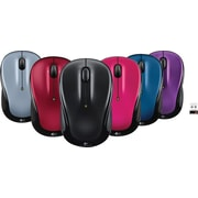 Logitech M325 Ambidextrous Wireless Advanced Optical Mice, Assorted Colors