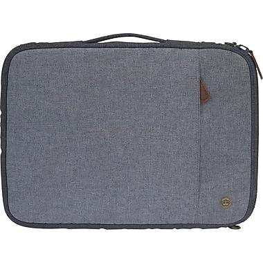 PKG - Sac/étui de transport universel « Stuff » pour tablette et ordinateur portatif de 15 po, gris clair