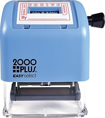 2000PLUS® Easy Select Received Date Stamp