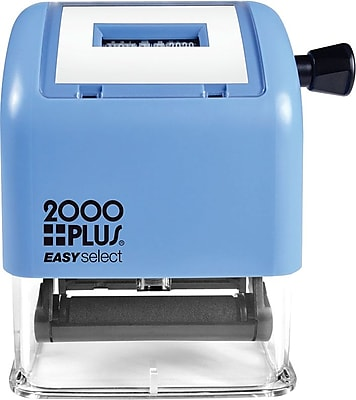 2000PLUS® Easy Select Self-Inking Daters, 1