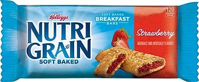 Kellogg's® Strawberry Flavored Nutri-Grain Bars, 1.3 oz. Bars, 16 Bars/Box