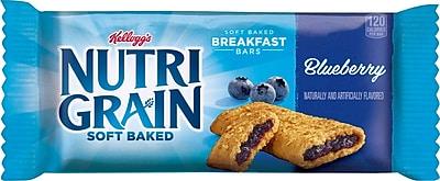 Kellogg's® Blueberry Flavored Nutri-Grain Bars, 1.3 oz. Bars, 16 Bars/Box