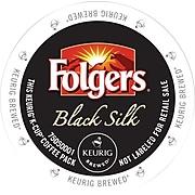 Folger's Gourmet Selections® Black Silk, Regular Keurig® K-Cup® Pods, 18 Count