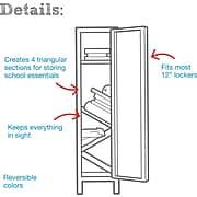 Designed By Students Floating Locker Shelves Purple/Pink