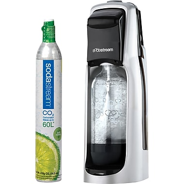 SodaStream Fountain Jet Soda Starter Kit, Black