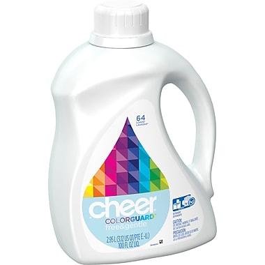 Cheer® HE Liquid Laundry Detergent, Free & Gentle, 100 oz.