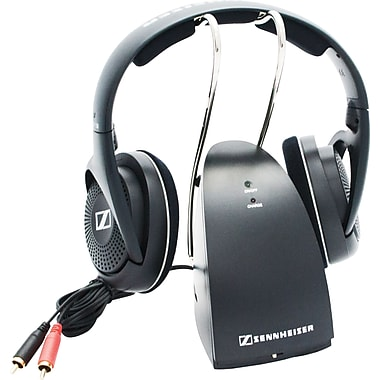 sennheiser casque supra auriculaire sans fil rs 135. Black Bedroom Furniture Sets. Home Design Ideas