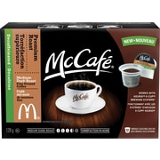 Mccafe Premium Roast Decaf Single Serve Coffee, 12/Pack