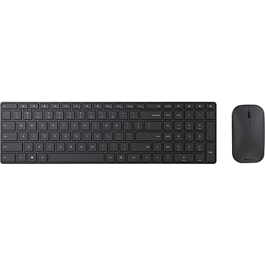 Microsoft Designer Desktop, Wireless Bluetooth Mouse and Keyboard Combo, Black (7N9-00001)