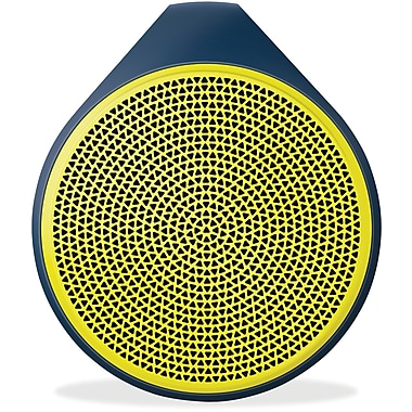 Logitech X100 Mobile Wireless Bluetooth Speaker, Yellow (984-000361)
