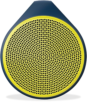 Logitech X100 Mobile Wireless Bluetooth Speaker, Yellow (984-000361)
