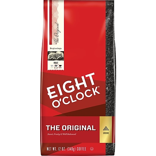 Eight O'Clock The Original Arabica Ground Coffee, Medium Roast (COF10027)