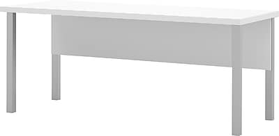 bestar Pro-Linea 71'' Rectangular Conference Table, White (120401-17)