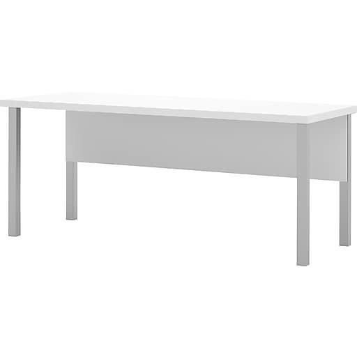 Bestar® Pro-Linea Rectangular Table, White (120401-17)