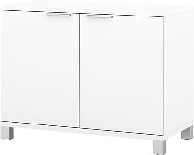 Pro-Linea 2-door Storage Unit in White