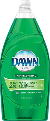Dawn® Ultra Dishwashing Liquid Antibacterial Apple Blossom™ 34.2 Oz