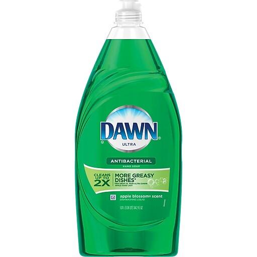 Dawn® Ultra Dishwashing Liquid Antibacterial Apple Blossom™ 34.2 Oz