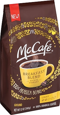 McCafe Breakfast Blend Ground Coffee, Regular, 12 oz. Bag