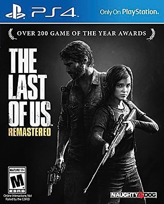 Last of Us Remastered for PS4