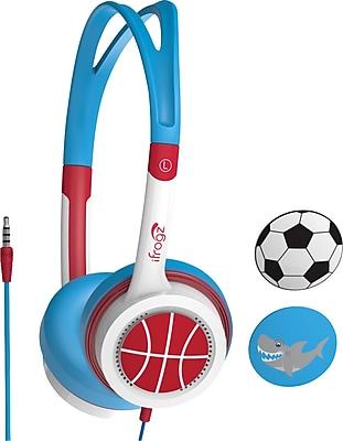iFrogz Kid Safe Headphones, Blue