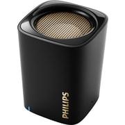 Philips BT100BLK Bluetooth Speaker, Black