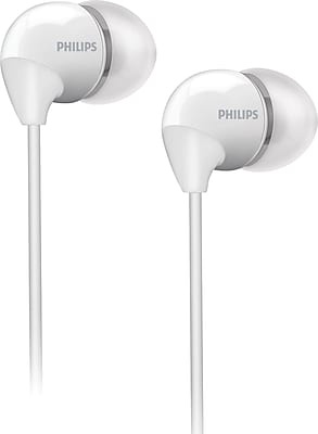 Philips SHE3590WHT Bass Sound Earbuds, White