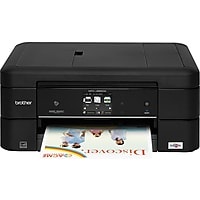 Brother MFC-J885DW Wireless Color Inkjet All-in-One Printer/Scanner/Copier/Fax with Duplex (Black)