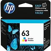 HP 63 Tri-Color Standard Yield Ink Cartridge (F6U61AN#140)