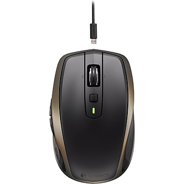 Logitech MX Anywhere 2 Wireless Compact Laser Tracks-on-Glass Mouse (910-004373)