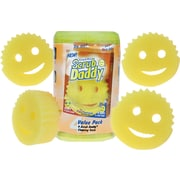 Scrub Daddy Shark Tank, Yellow, 4/Pack (SDOVP)