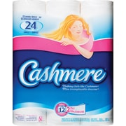 Cashmere® Quilted Bathroom Tissue, Double Roll