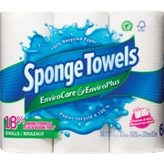 SpongeTowelsMD – Essuie-tout EnviroCare, paq./6