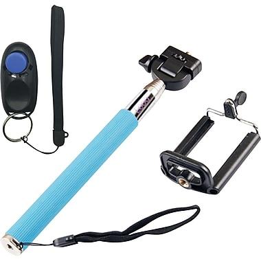 Looq Selfie Clicker Kit Selfie Stick - Blue
