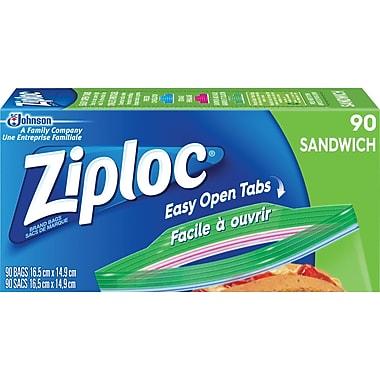 Ziploc Sandwich Bags, 90/Pack