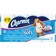 Charmin® Ultra Soft™ Bathroom Tissue, 154 Sheets/Roll, 16 Double Rolls