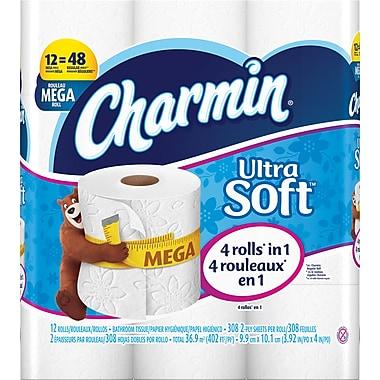 Charmin® Ultra Soft™ Bathroom Tissue, 12 Mega Rolls