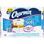 Charmin® Ultra Soft Toilet Paper, 2-Ply, 18/Count (94049/PGC 86809)