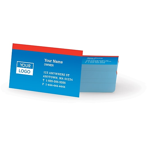 400 Gloss Bus Card B & W PIS