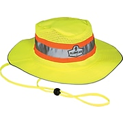 Ergodyne® GloWear® 8935 Hi-Vis Ranger Hats, Small/Medium