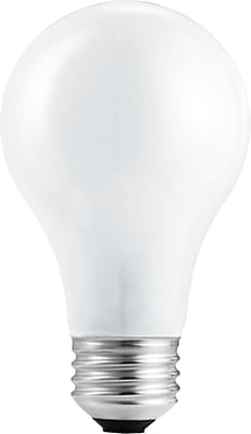 Philips Halogen Light Bulb, A19, 43 Watt, 24/Pk