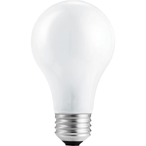 Philips Halogen Light Bulb, A19, 29 Watt, 2610K, 24 pack