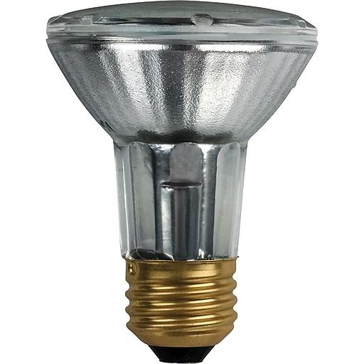 Philips Halogen PAR20 Lamp, 25° Flood, 39 Watts, 15PK