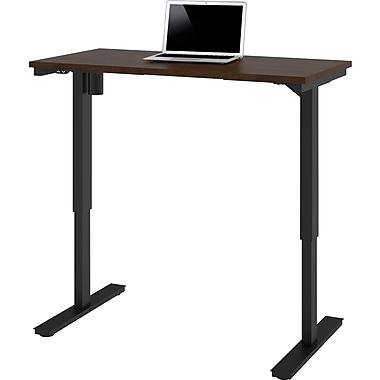 bestar 24'' Work Station Sit & Stand Desk, Chocolate (65857-69)