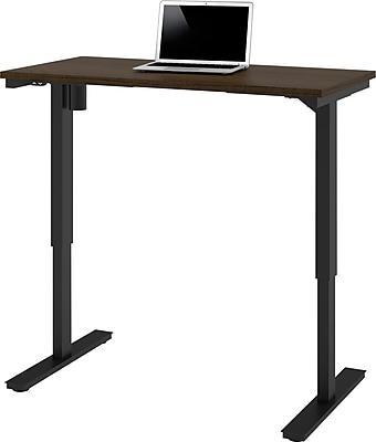 bestar 24'' Work Station Sit & Stand Desk, Tuxedo (65857-78)