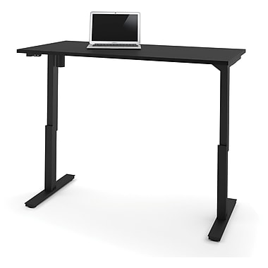 bestar 30'' Work Station Sit & Stand Desk, Black (65867-18)