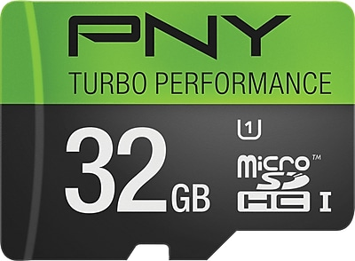 PNY 32GB Turbo MicroSDXC CL10 90MB/s Flash Memory Card
