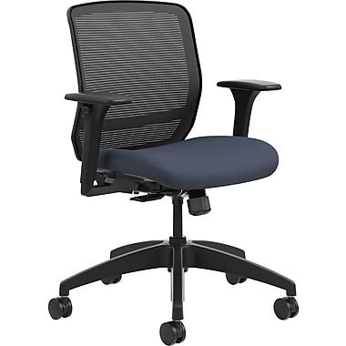 HON Quotient Mesh Back Task Chair Synchro-Tilt, Black Mesh Cerulean Fabric (HONQTMMY1ACU90) NEXT2017