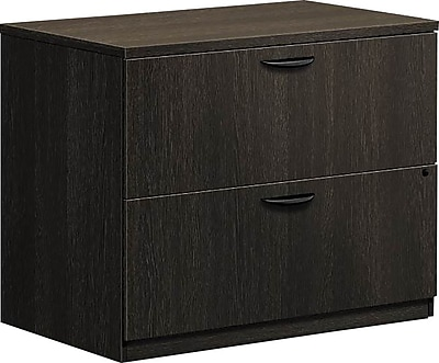 basyx by HON® BL Series Lateral File Cabinet, Legal/Letter, 2-Drawer, Espresso, 22