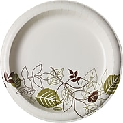 "Dixie Ultra Pathways Heavy-Weight Paper Plates, 10"", 125/Pack (SXP10PATH)"
